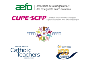 Joint Statement on Education in Ontario